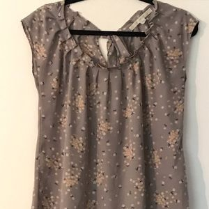 Lauren Conrad Gray Blouse, Size small